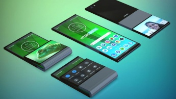 Lenovo smartphone dobrável Android patente