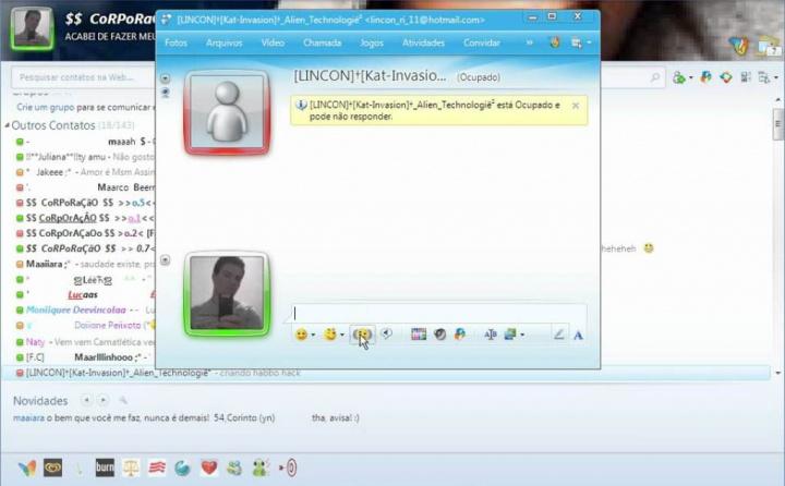 MSN Messenger rede social WhatsApp