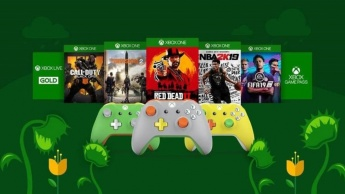 Microsoft Xbox Primavera consola jogos