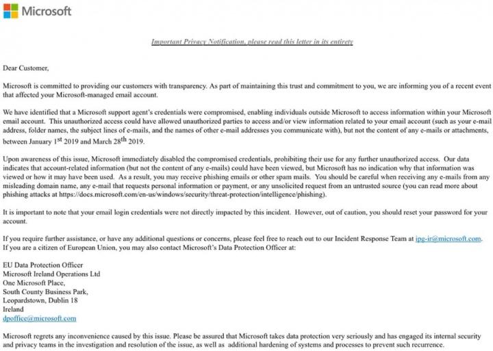 outlook microsoft hackers e-mails utilizadores
