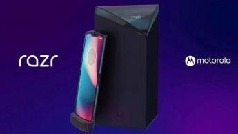 Motorola Razr telemóvel smartphone dobrável