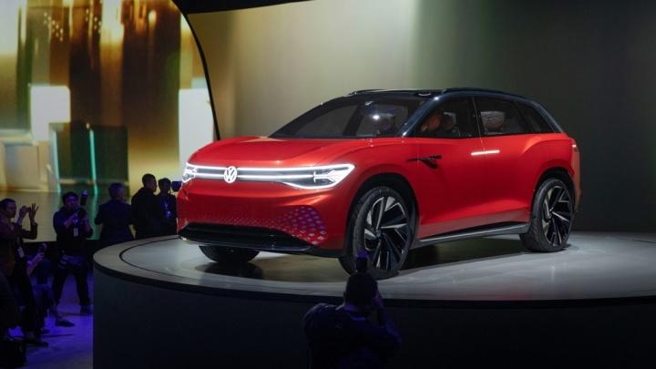 ID. ROOMZZ Volkswagen China elétrico carro