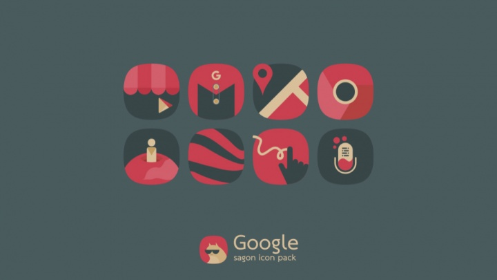 Google Play Store Android jogos icon packs pacotes de ícones