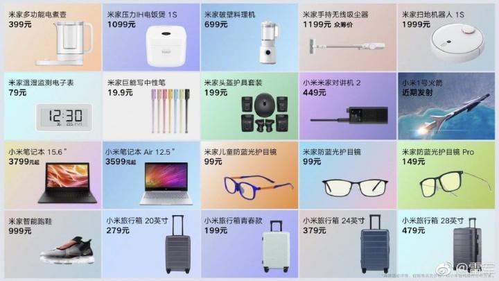 novos produtos Xiaomi gadgets