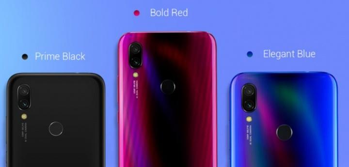 Xiaomi Redmi Y3 smartphone