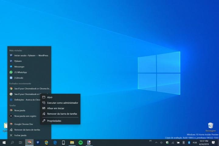 Chrome Dark Mode browser ativar Windows 10