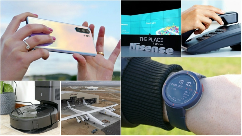 Analisámos o Huawei P30 Pro, o Xiaomi Amazfit Verge, o novo iRobot Roomba i7+, e revelamos todos os destaques tecnológicos.