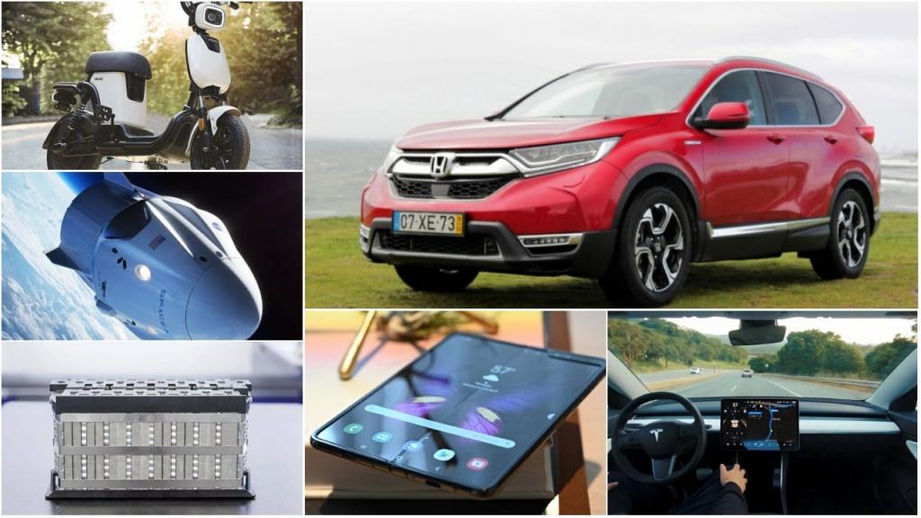 Analisámos o novo Honda CR-V Hybrid, falámos do adiamento do lançamento do Samsung Galaxy Fold, do crescimento da Huawei, e muito mais. Conheça os nossos destaques tecnológicos semanais