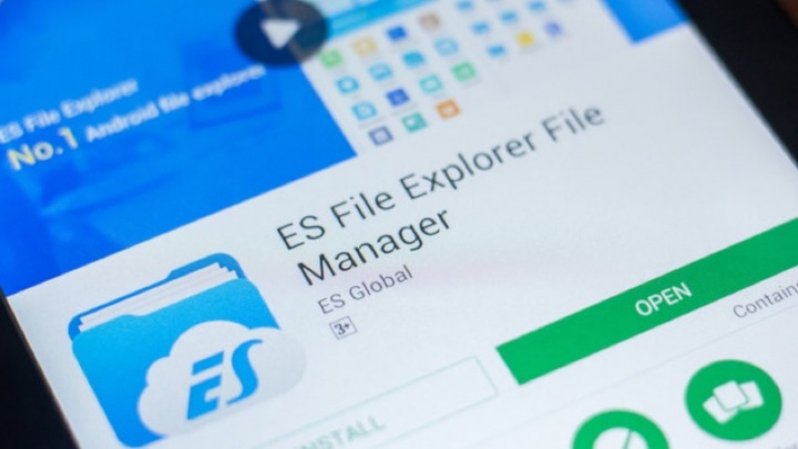 ES File Explorer Android ficheiros gerir