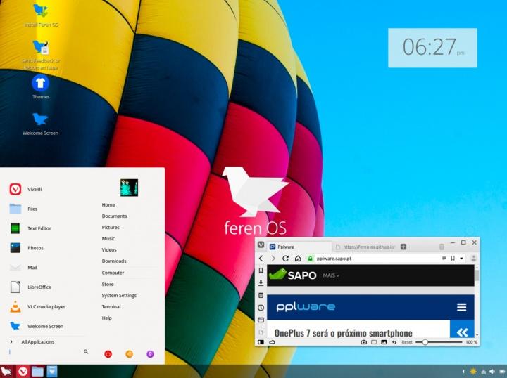 Feren OS 2019.04: Uma alternativa gratuita ao macOS e Windows