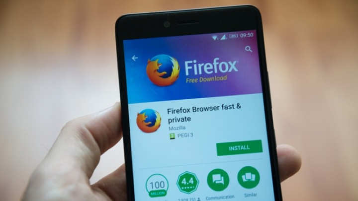 Mozilla Firefox Fenix browser Android