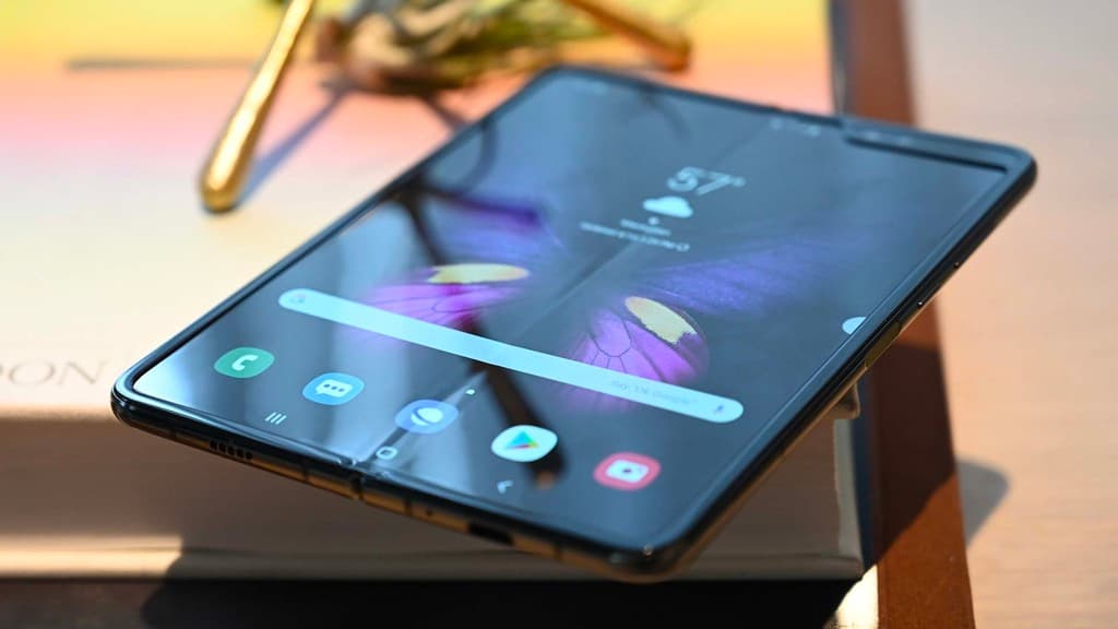 Samsung Galaxy Fold smartphone Android dobrável