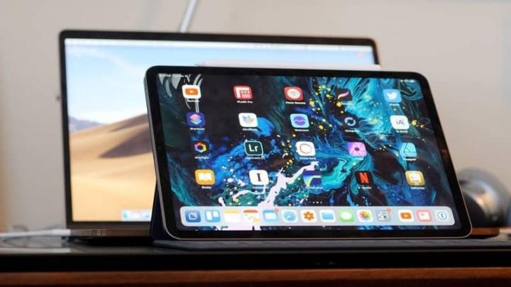 iPad Apple ecrã dobrável 5G