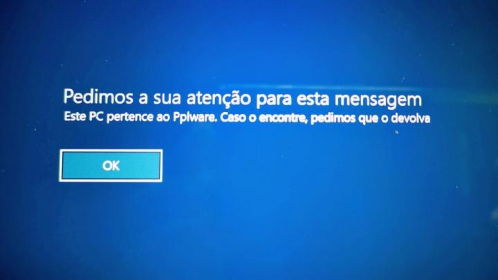 Windows 10 mensagem arranque personalizada Microsoft