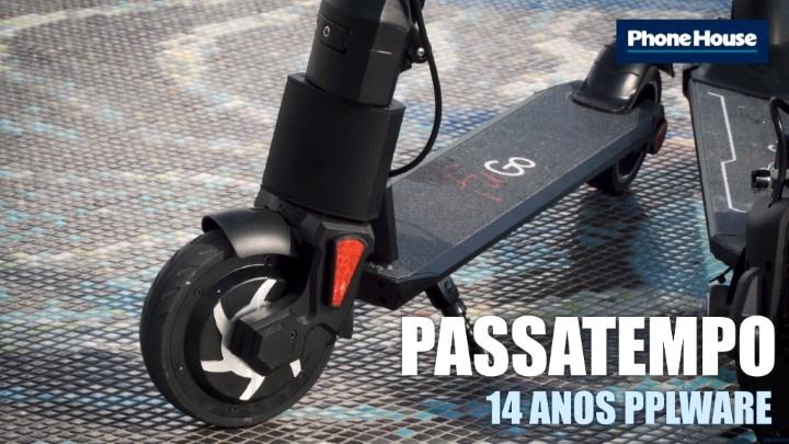 Passatempo 14 anos Pplware: Habilite-se a uma eScooter FitGo F11 Enter