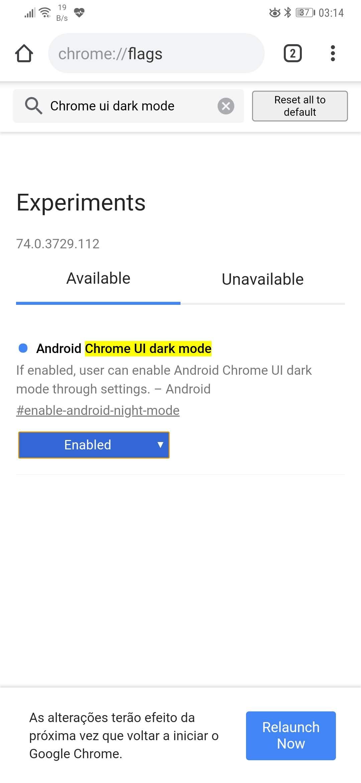 Dica: Saiba como ativar o novo Dark Mode no Chrome do Android
