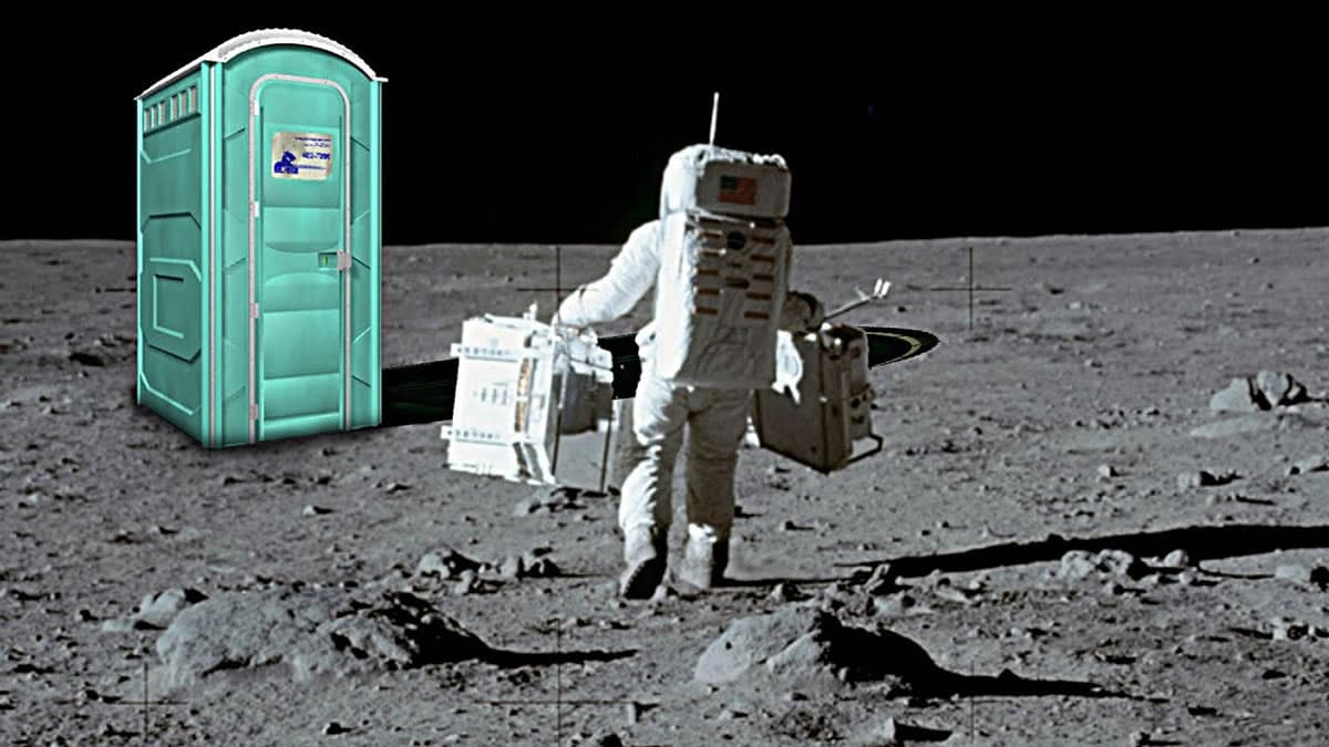 NASA quer ir buscar 96 fraldas deixadas na Lua há 50 anos
