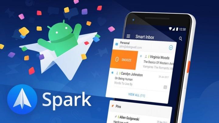 Spark e-mail Android iOS cliente