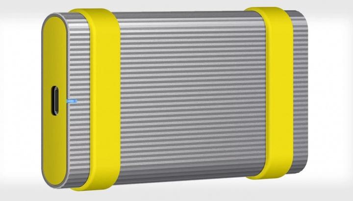Imagem de unidades SSD externa Sony ultra resistentes para fotógrafos