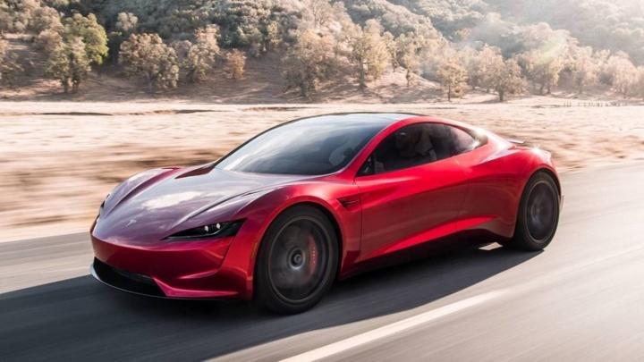 Imagem Roadster Tesla