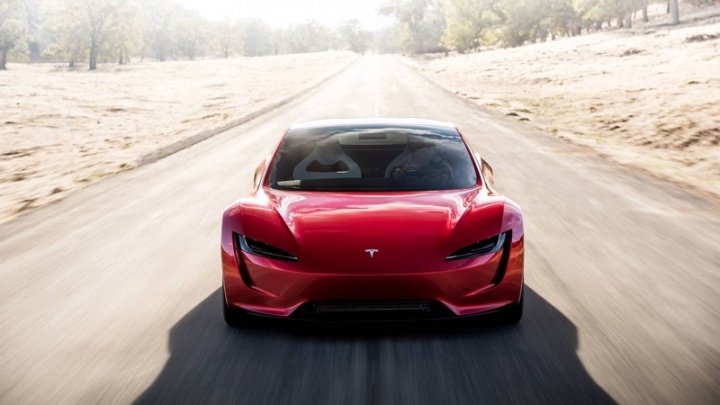 Tesla Roadster Elon Musk autonomia mil quilómetros