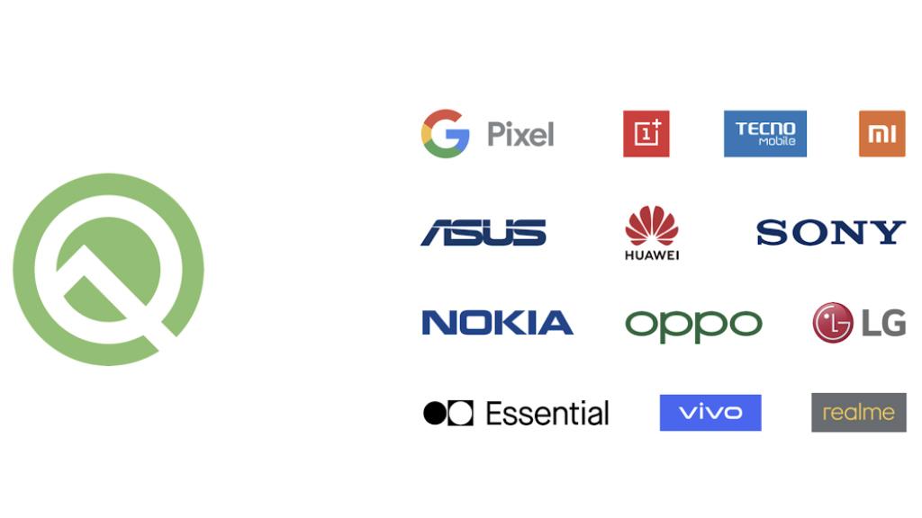 Android Q beta smartphone versão instalar