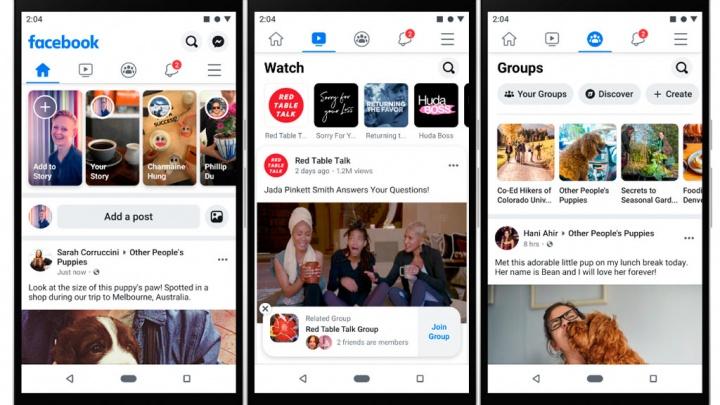 Facebook smartphones redes sociais