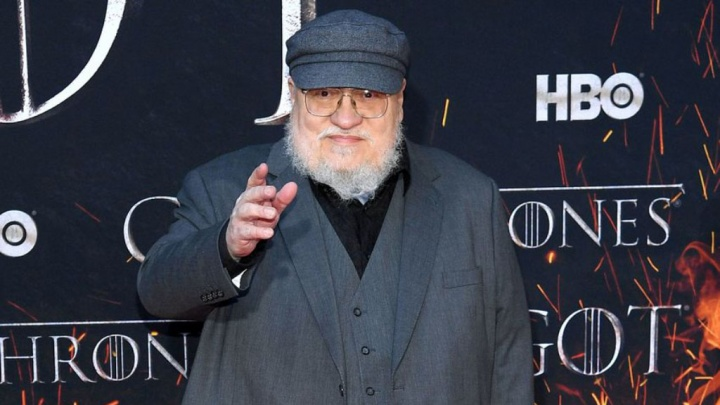 George R.R. Martin GOT HBO Série Game of Thrones