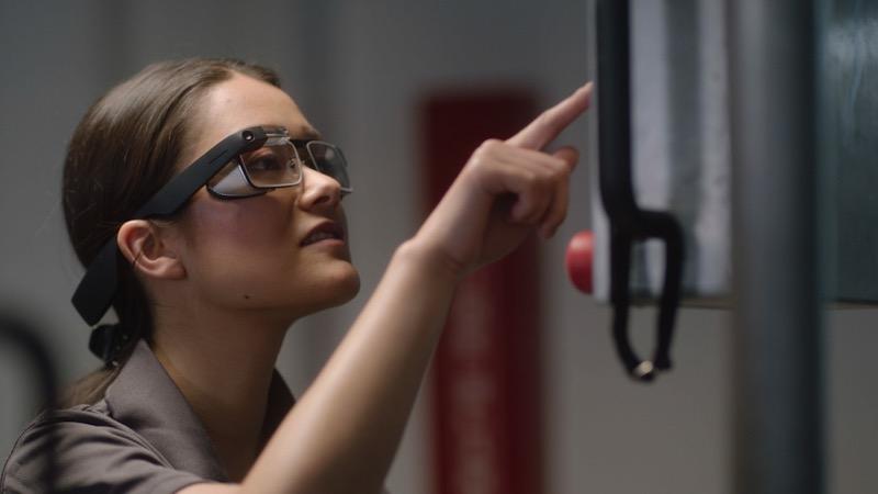 Google Glass Enterprise óculos desempenho