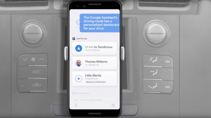 Modo de Condução Google Assistant