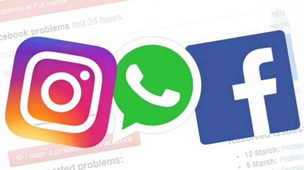 Instagram WhatsApp Facebook redes sociais