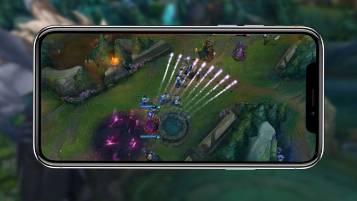 League of Legends LoL jogos smartphones Android iOS