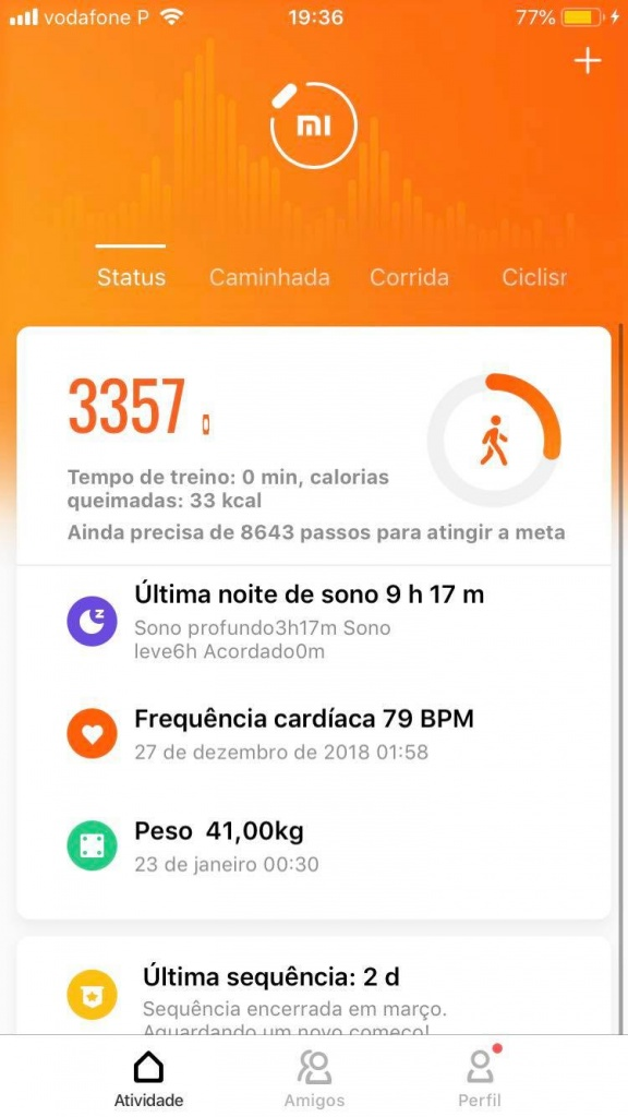 Mi Band Mi Fit Xiaomi app Android