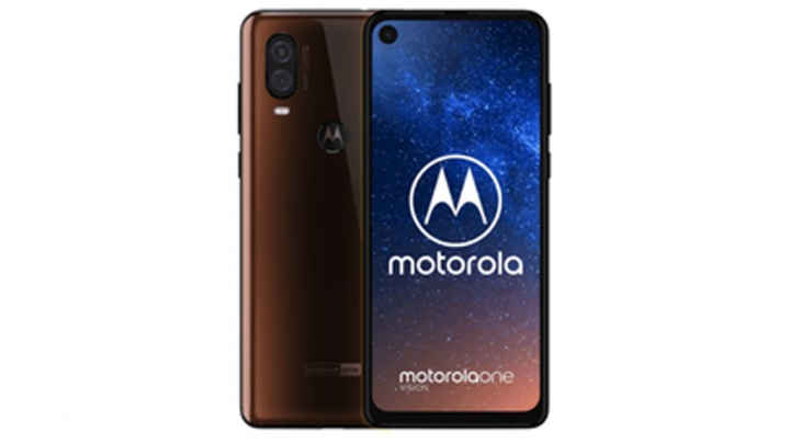 Motorola One Vision smartphone Android One