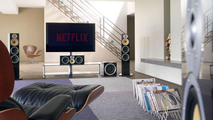 Netflix filmes séries série áudio Dolby Atmos streaming