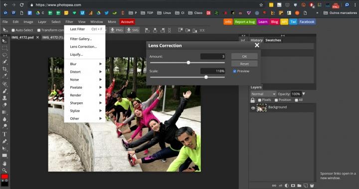 Photopea: Um clone quase perfeito e online do popular Photoshop