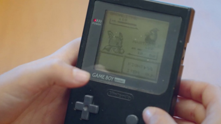 Game Boy Color estudo cérebro Nintendo jogo Pokémon região