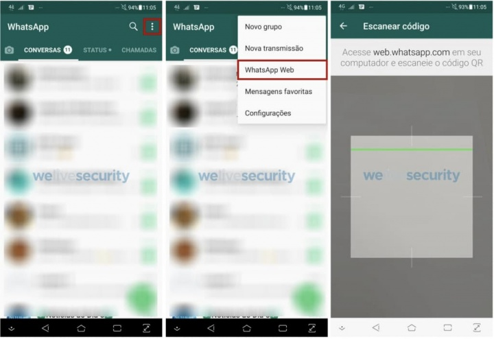 QRLjacking: Sequestro de contas do WhatsApp via QR Code