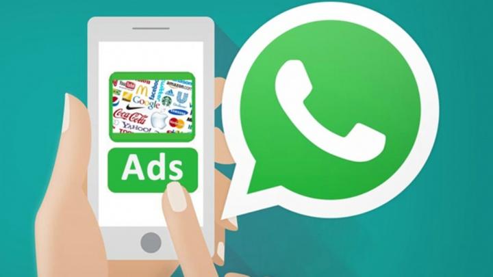 WhatsApp publicidade Android iOS aplicação Facebook