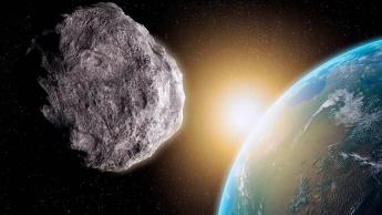 Imagem Asteroide a caminho da Terra com defesa NASA