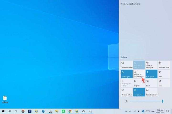 Windows 10 notificações desligar Definições trabalhar