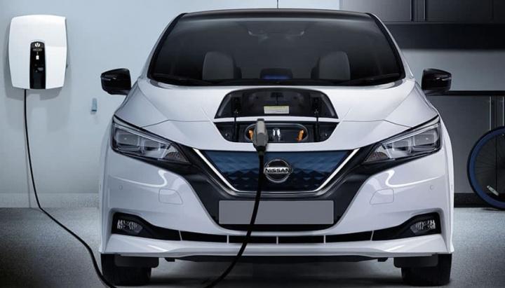 Imagem do Nissan Leaf que tem baterias que duram 20 anos