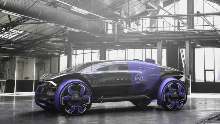 19_19 Concept: Citroën reveals new concept of 100% electric car
