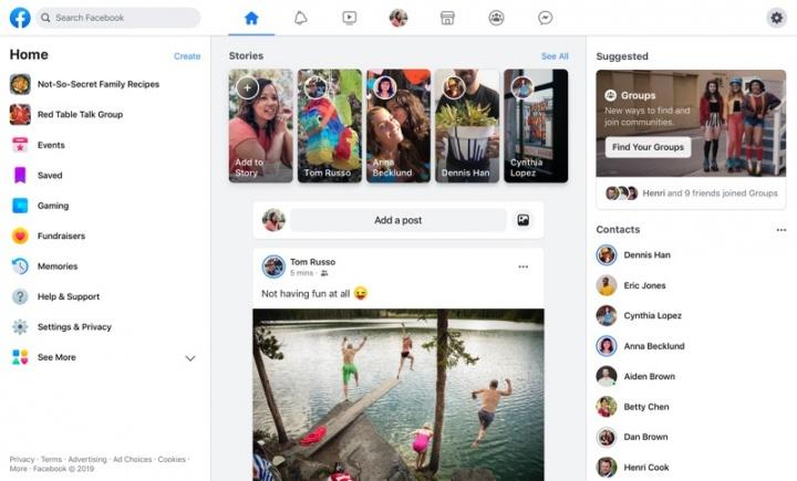 Facebook F8 rede social Messenger privacidade