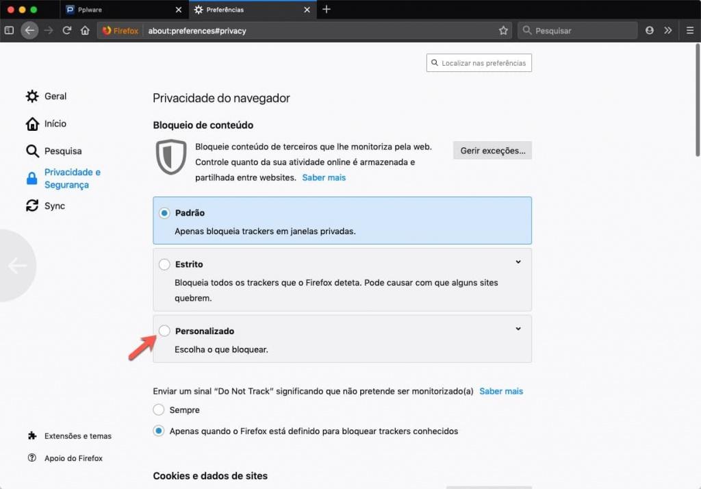 Firefox Mozilla segurança medidas browser