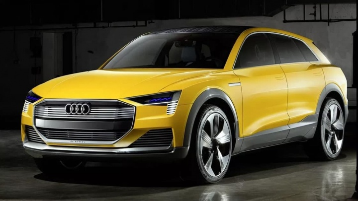 Imagem Audi h-tron movido com célula a combustível de hidrogénio