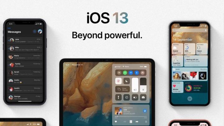 Apple iPhone iPad iOS 13 WWDC 19
