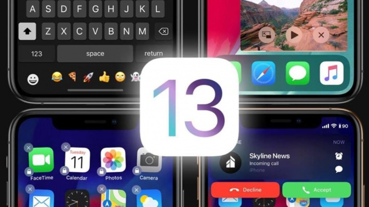 Apple iOS 13 iPhone iPad