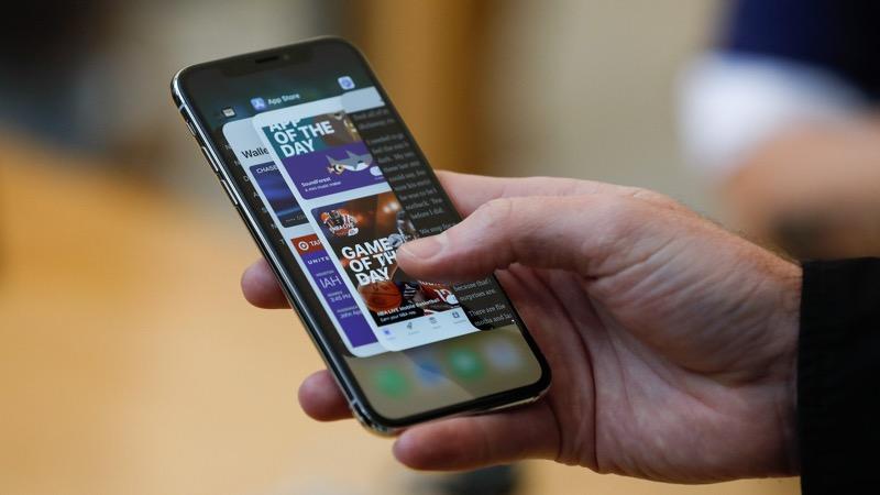 Apple iPhone iOS atualizações bateria
