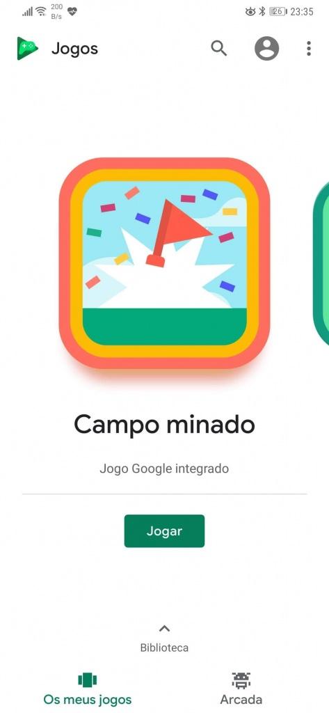 Minesweeper campo minado google android jogo